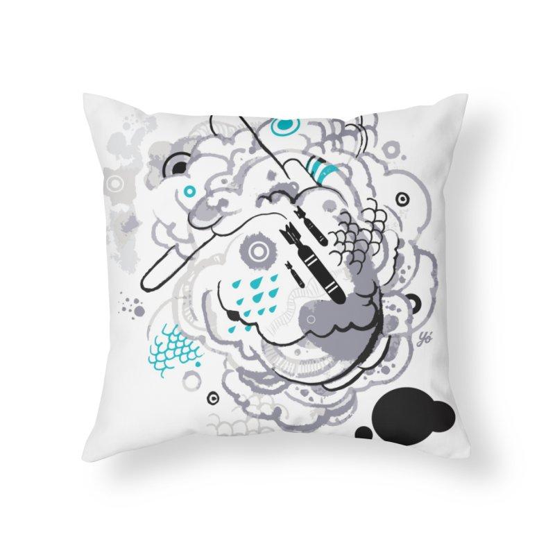 Cloud VI Home Throw Pillow by YoSilvera's Artist Shop