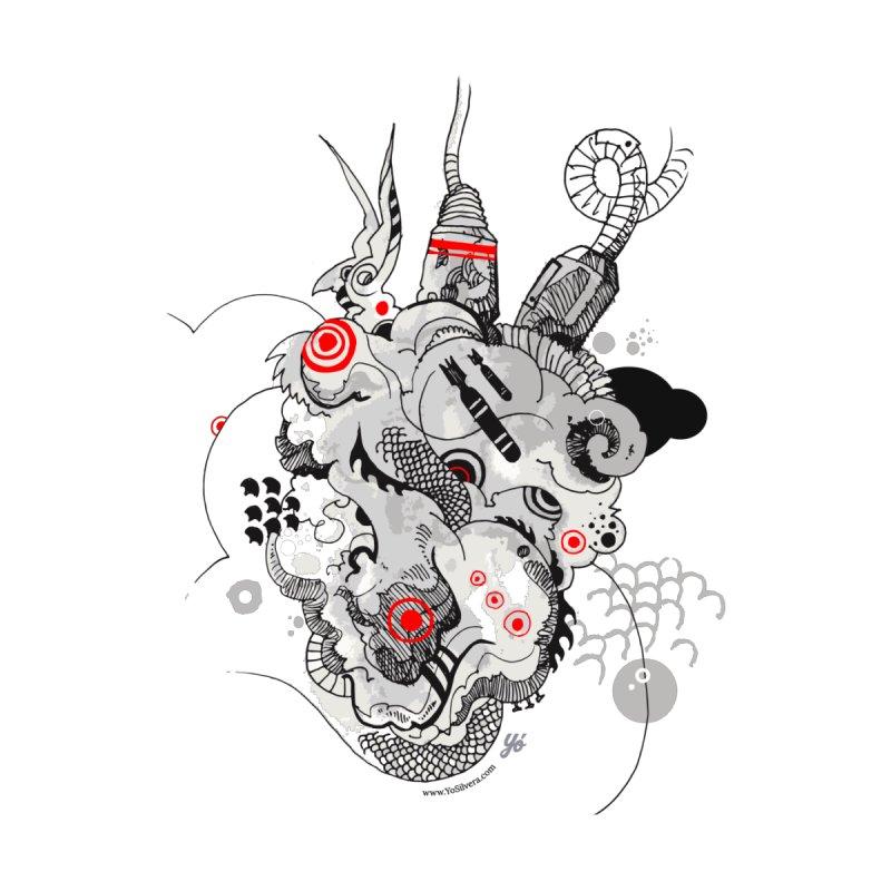 Cloud IX Men's V-Neck by YoSilvera's Artist Shop