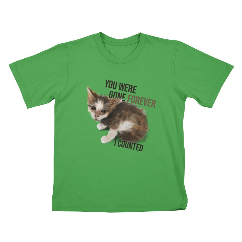 Gone Forever Kids T-Shirt by YoSilvera's Artist Shop