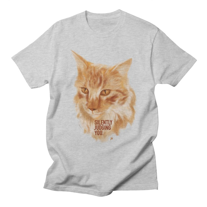 Silently Judging You Men's T-Shirt by YoSilvera's Artist Shop