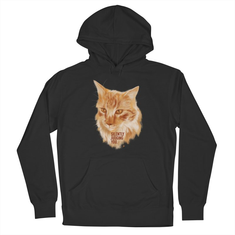 Silently Judging You Women's Pullover Hoody by YoSilvera's Artist Shop