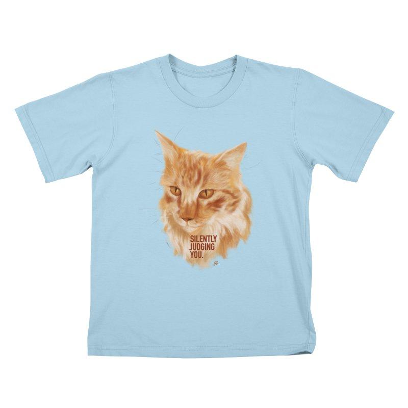 Silently Judging You Kids T-Shirt by YoSilvera's Artist Shop
