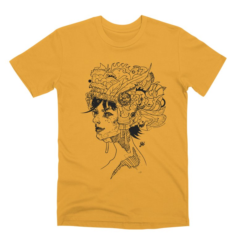 Muse IV Men's T-Shirt by YoSilvera's Artist Shop