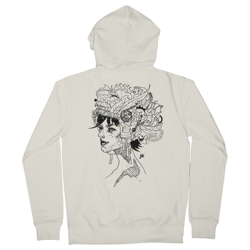 Muse IV Women's Zip-Up Hoody by YoSilvera's Artist Shop