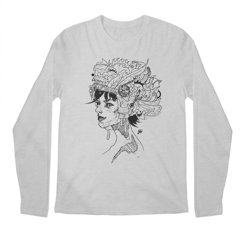 Muse IV Men's Longsleeve T-Shirt by YoSilvera's Artist Shop