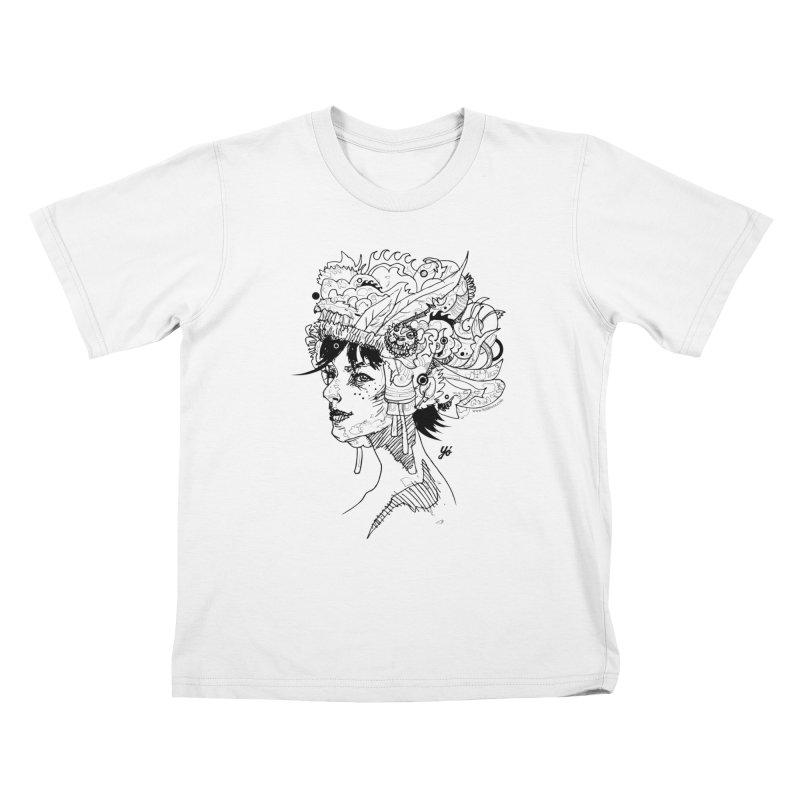 Muse IV Kids T-Shirt by YoSilvera's Artist Shop