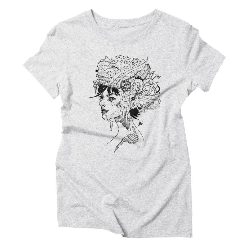 Muse IV Women's T-Shirt by YoSilvera's Artist Shop