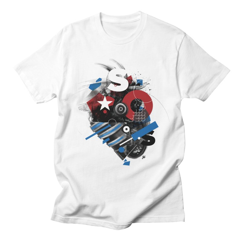 Unbroken - CUBA Men's T-Shirt by YoSilvera's Artist Shop