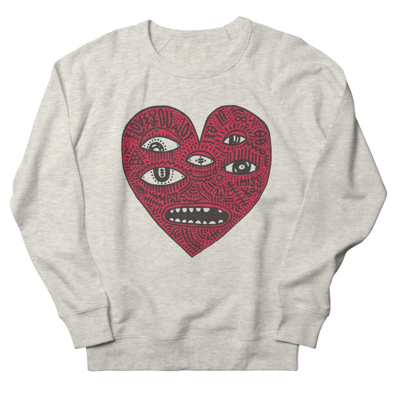 I LOVE YOU A LOT Men's French Terry Sweatshirt by Young & Sick