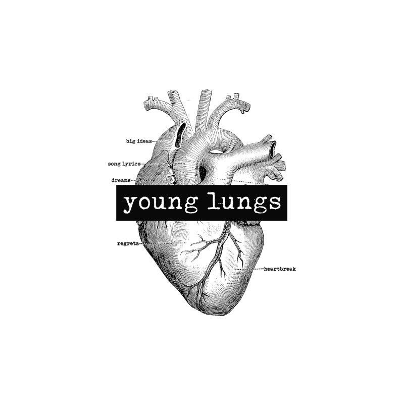 Heart Design Men's T-Shirt by Young Lungs Merch