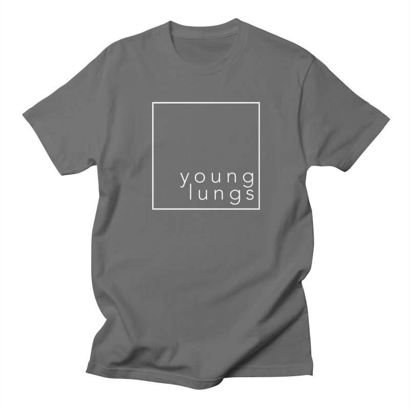 Square Design Men's T-Shirt by Young Lungs Merch