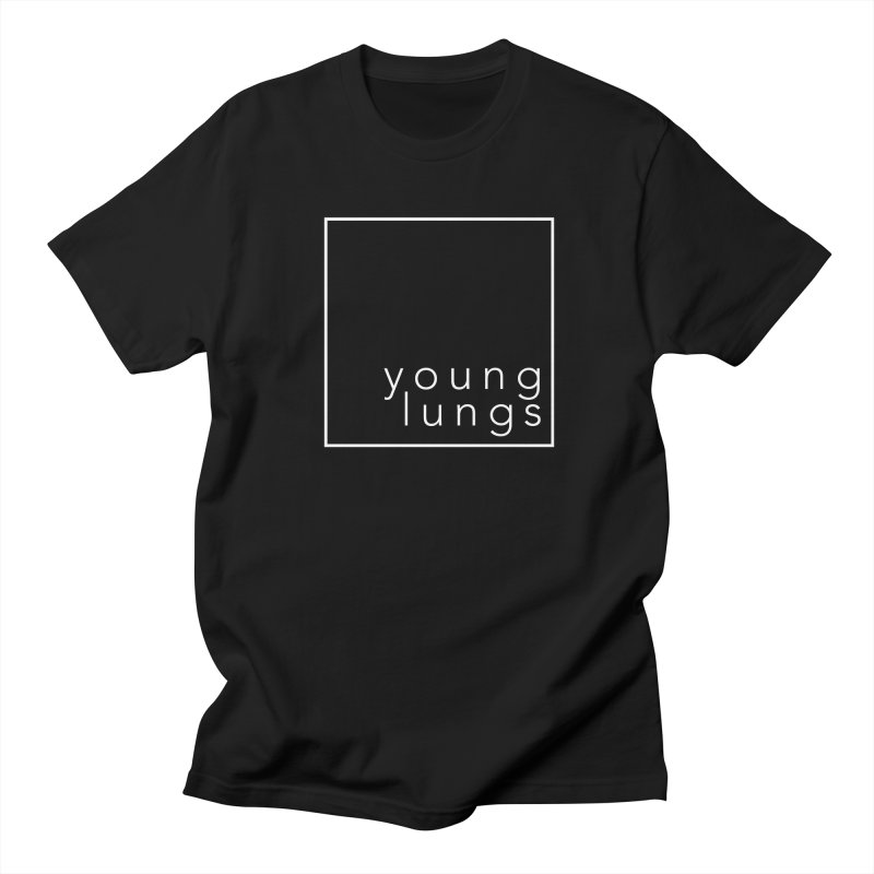 Square Design Women's Regular Unisex T-Shirt by Young Lungs Merch