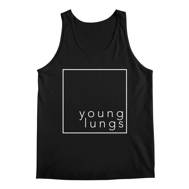 Square Design Men's Tank by Young Lungs Merch