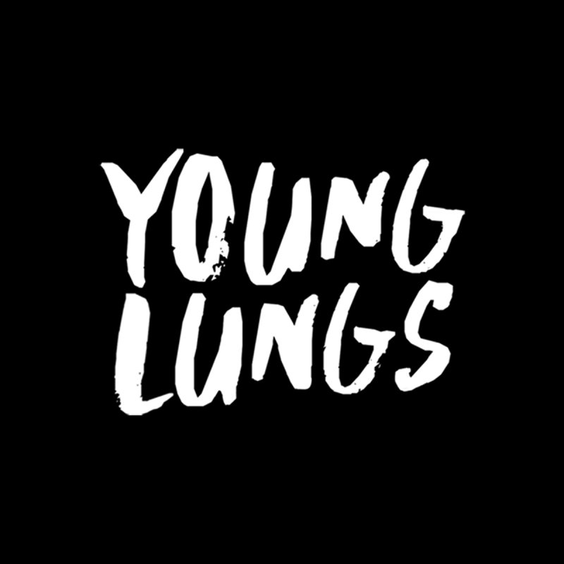 Logo Design Men's T-Shirt by Young Lungs Merch