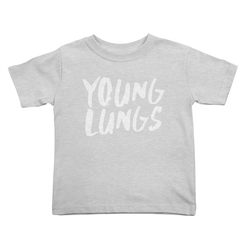 Logo Design Kids Toddler T-Shirt by Young Lungs Merch