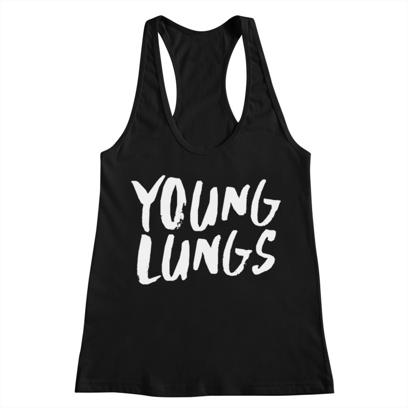 Logo Design Women's Racerback Tank by Young Lungs Merch