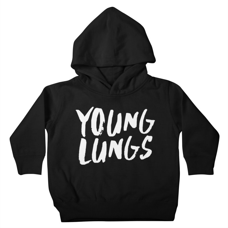 Logo Design Kids Toddler Pullover Hoody by Young Lungs Merch
