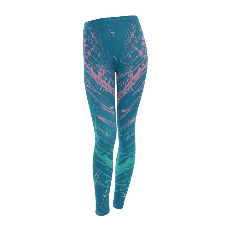 Eighties 80s 1980s pattern in Women's Leggings Bottoms by McNutts Design Artist Shop