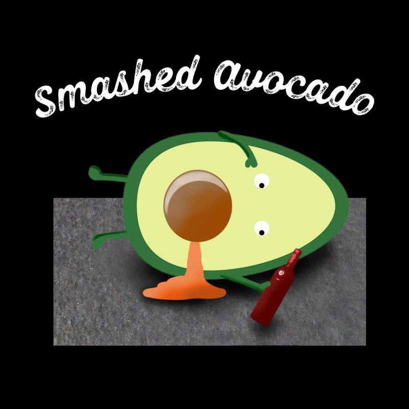 Smashed Avocado Funny Tshirt by McNutts Design Artist Shop