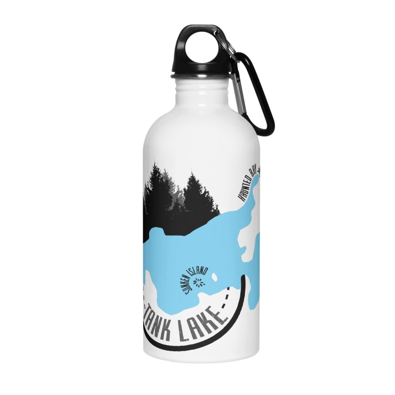 Tank Lake | Darker Lettering Apparel, Home Decor & Accessories Accessories Water Bottle by Your Lake Apparel & Accessories