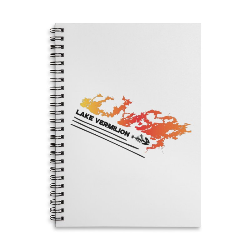Lake Vermilion Accessories Lined Spiral Notebook by Your Lake Apparel & Accessories