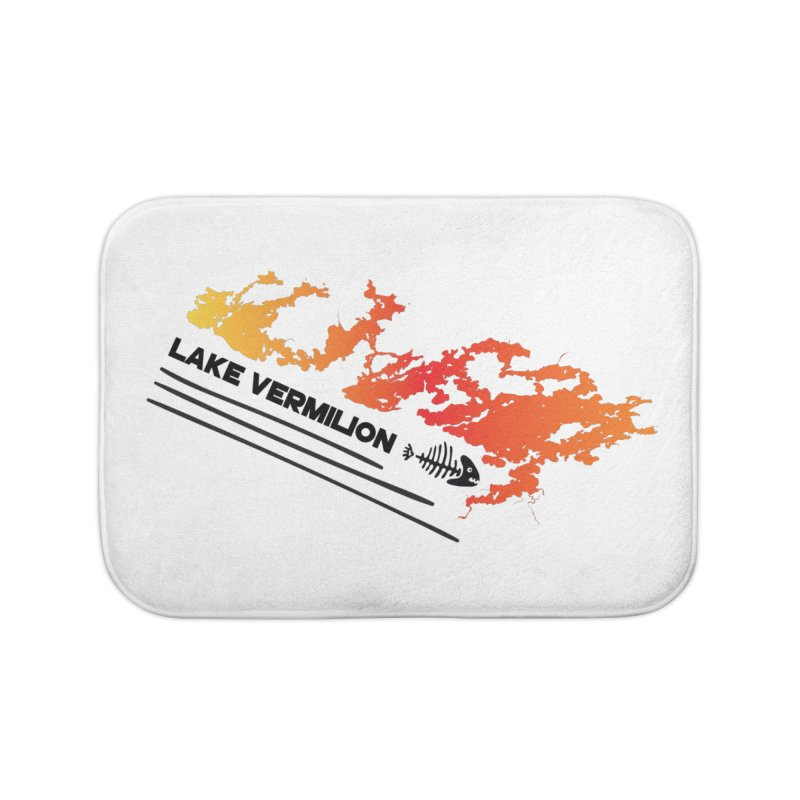 Lake Vermilion Home Bath Mat by Your Lake Apparel & Accessories