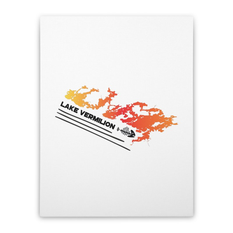 Lake Vermilion Home Stretched Canvas by Your Lake Apparel & Accessories