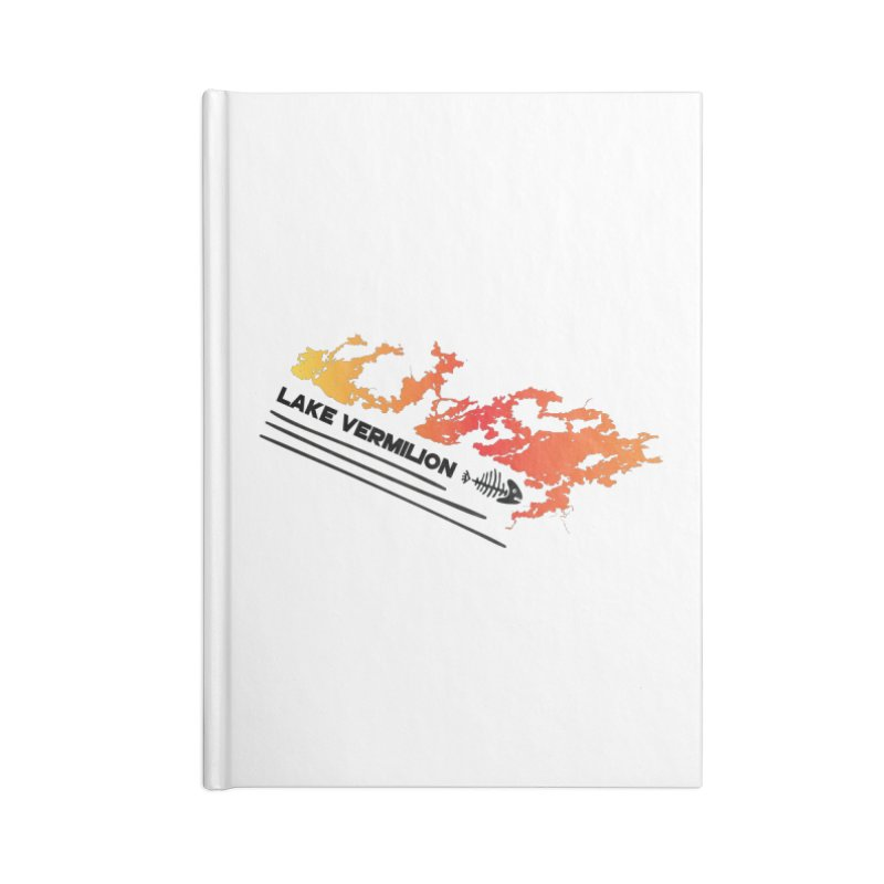 Lake Vermilion Accessories Blank Journal Notebook by Your Lake Apparel & Accessories