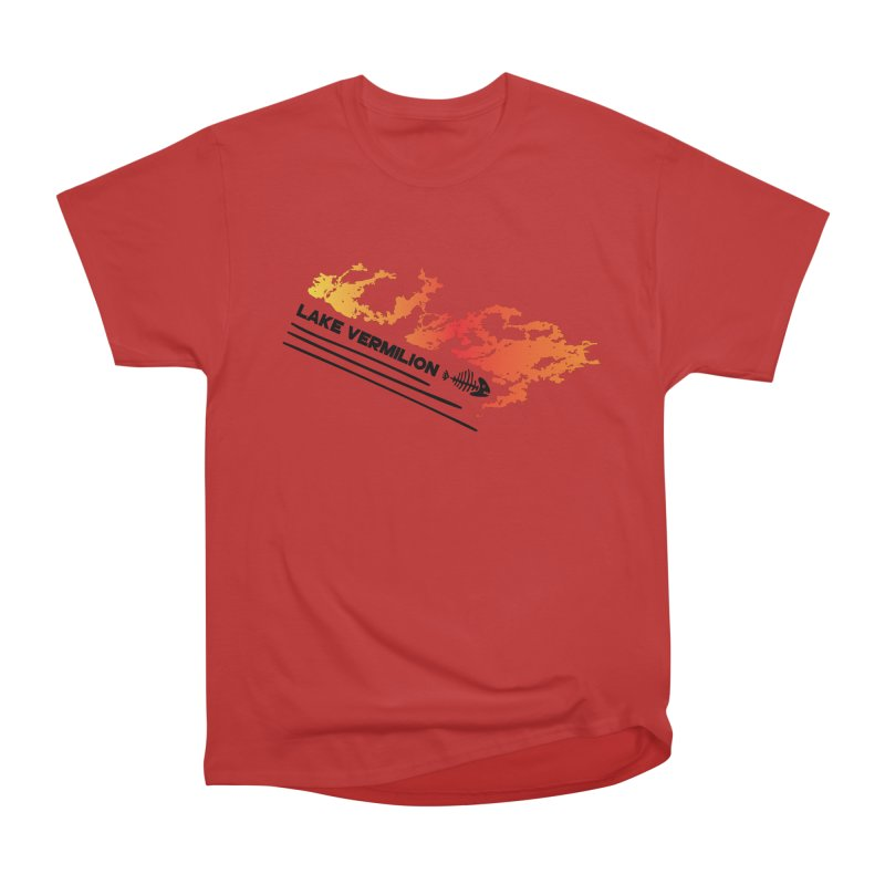 Lake Vermilion Women's Heavyweight Unisex T-Shirt by Your Lake Apparel & Accessories