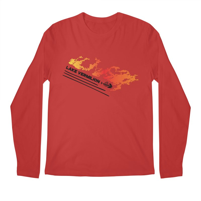 Lake Vermilion Men's Regular Longsleeve T-Shirt by Your Lake Apparel & Accessories