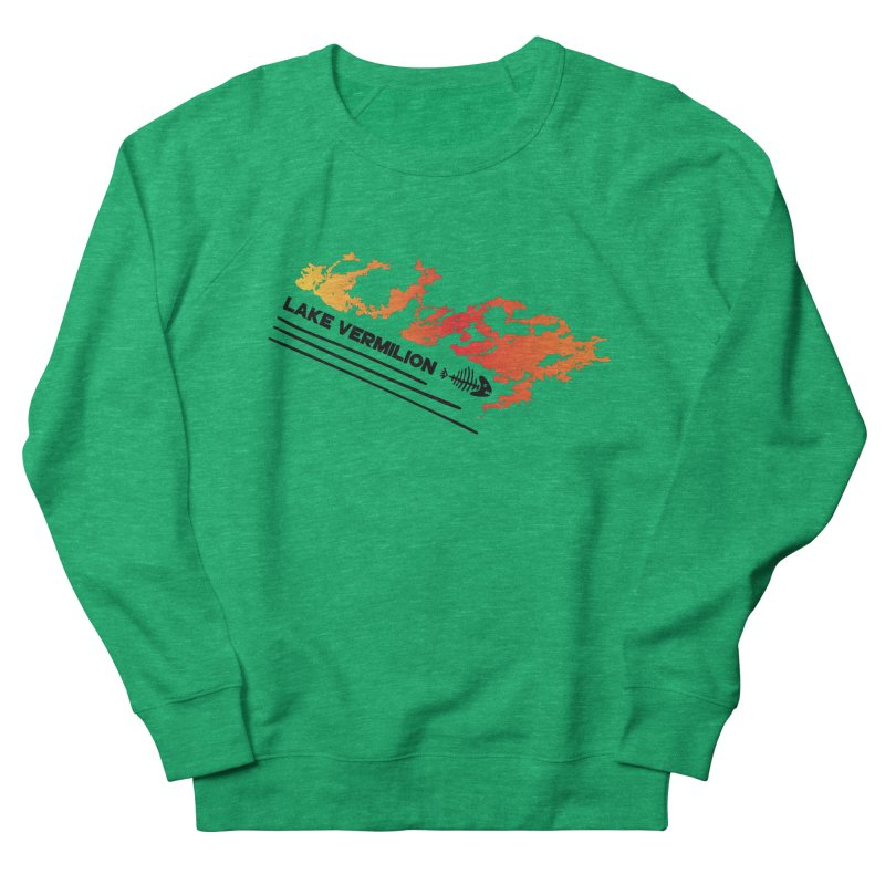 Lake Vermilion Men's French Terry Sweatshirt by Your Lake Apparel & Accessories