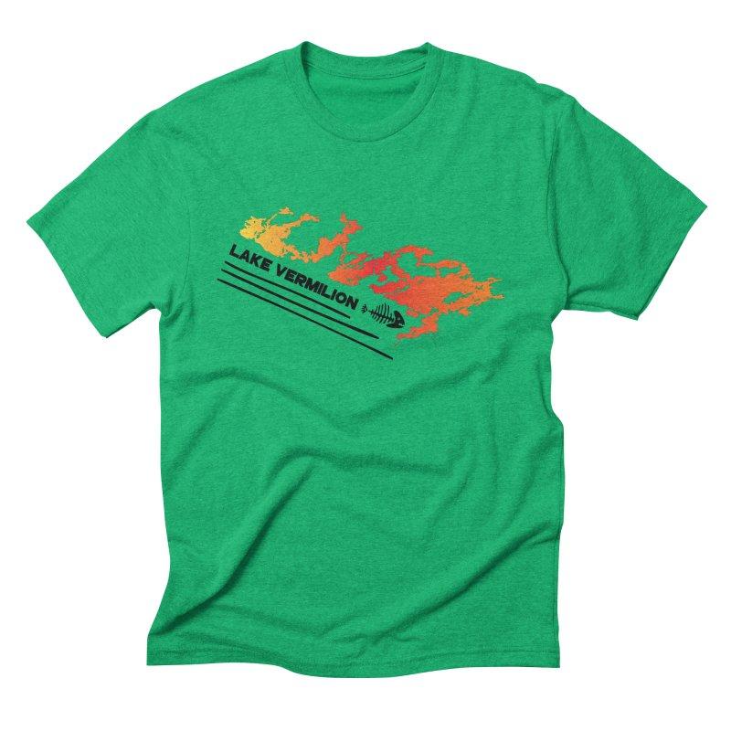 Lake Vermilion Men's Triblend T-Shirt by Your Lake Apparel & Accessories