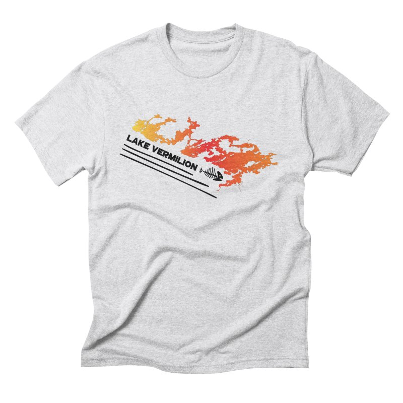 Lake Vermilion Men's Triblend T-Shirt by Your Lake Apparel & Accessories
