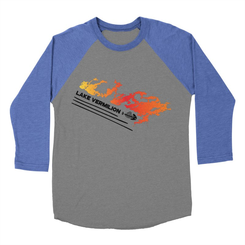 Lake Vermilion Women's Baseball Triblend Longsleeve T-Shirt by Your Lake Apparel & Accessories