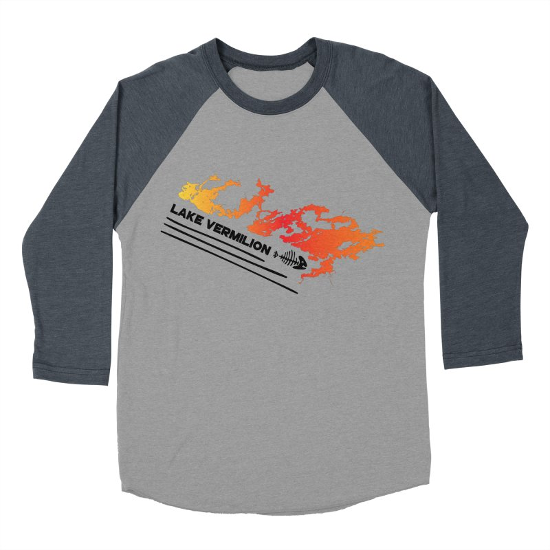 Lake Vermilion Men's Baseball Triblend Longsleeve T-Shirt by Your Lake Apparel & Accessories