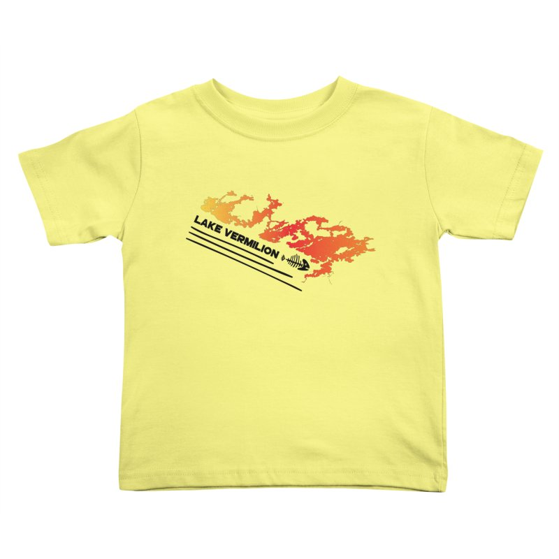 Lake Vermilion Kids Toddler T-Shirt by Your Lake Apparel & Accessories