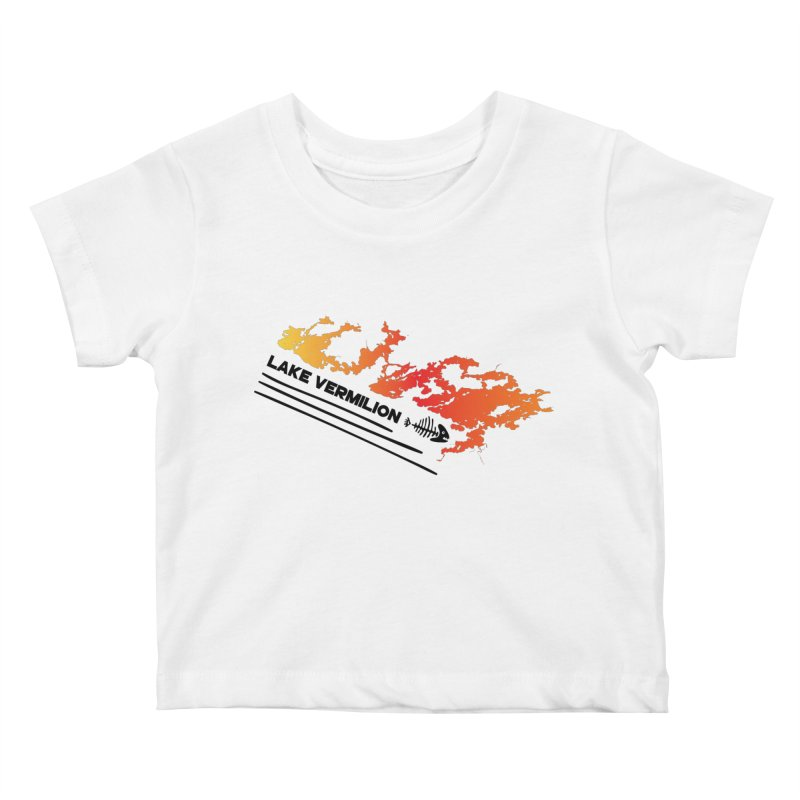 Lake Vermilion Kids Baby T-Shirt by Your Lake Apparel & Accessories