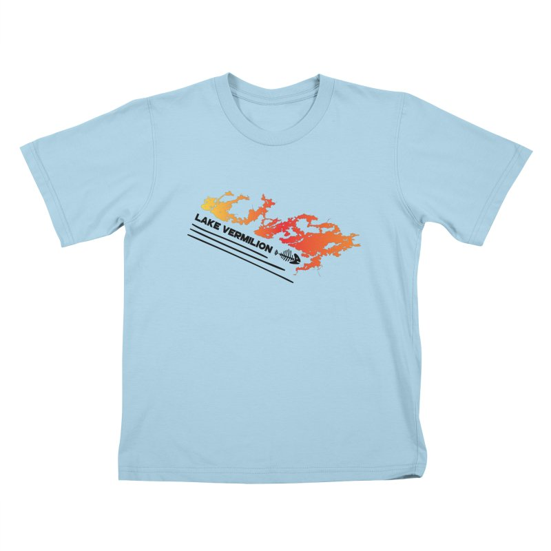 Lake Vermilion Kids T-Shirt by Your Lake Apparel & Accessories