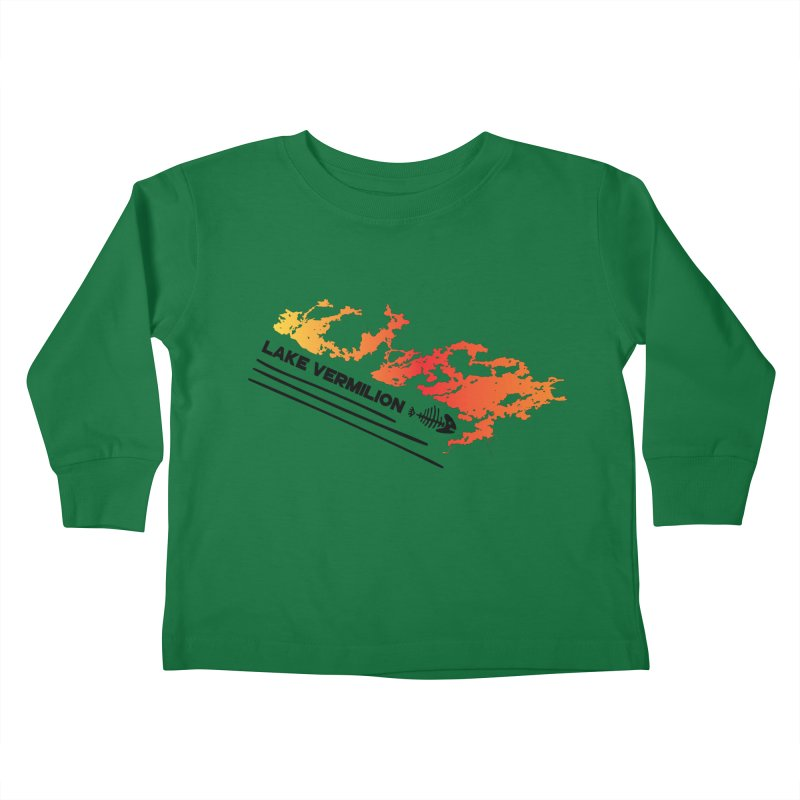 Lake Vermilion Kids Toddler Longsleeve T-Shirt by Your Lake Apparel & Accessories