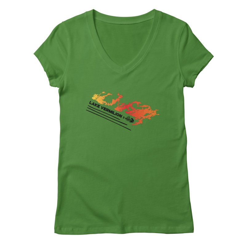 Lake Vermilion Women's Regular V-Neck by Your Lake Apparel & Accessories