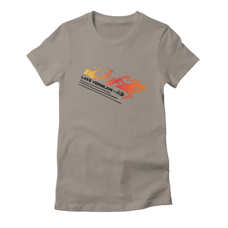 Lake Vermilion Women's Fitted T-Shirt by Your Lake Apparel & Accessories