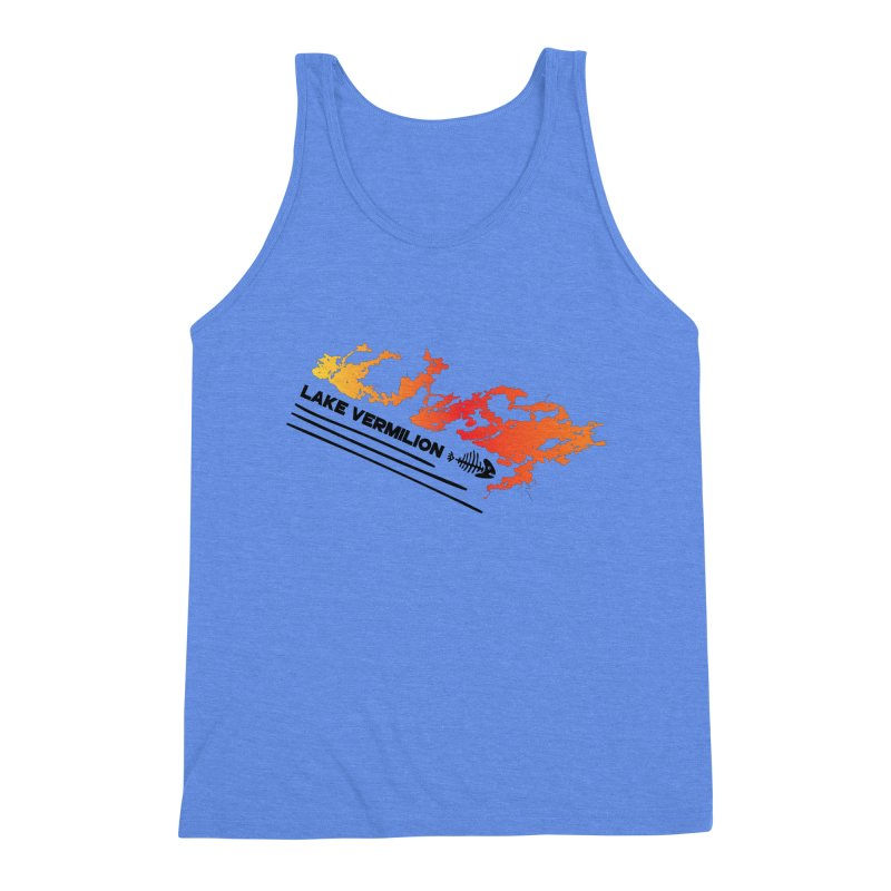 Lake Vermilion Men's Triblend Tank by Your Lake Apparel & Accessories