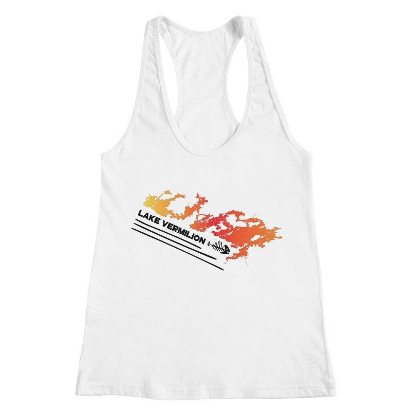 Lake Vermilion Women's Racerback Tank by Your Lake Apparel & Accessories