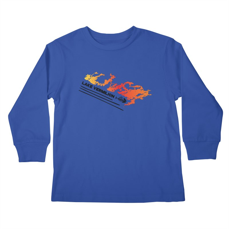 Lake Vermilion Kids Longsleeve T-Shirt by Your Lake Apparel & Accessories