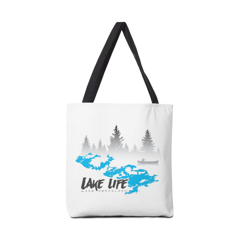 Lake Vermilion | Lake Life | Darker Lettering Accessories Tote Bag Bag by Your Lake Apparel & Accessories