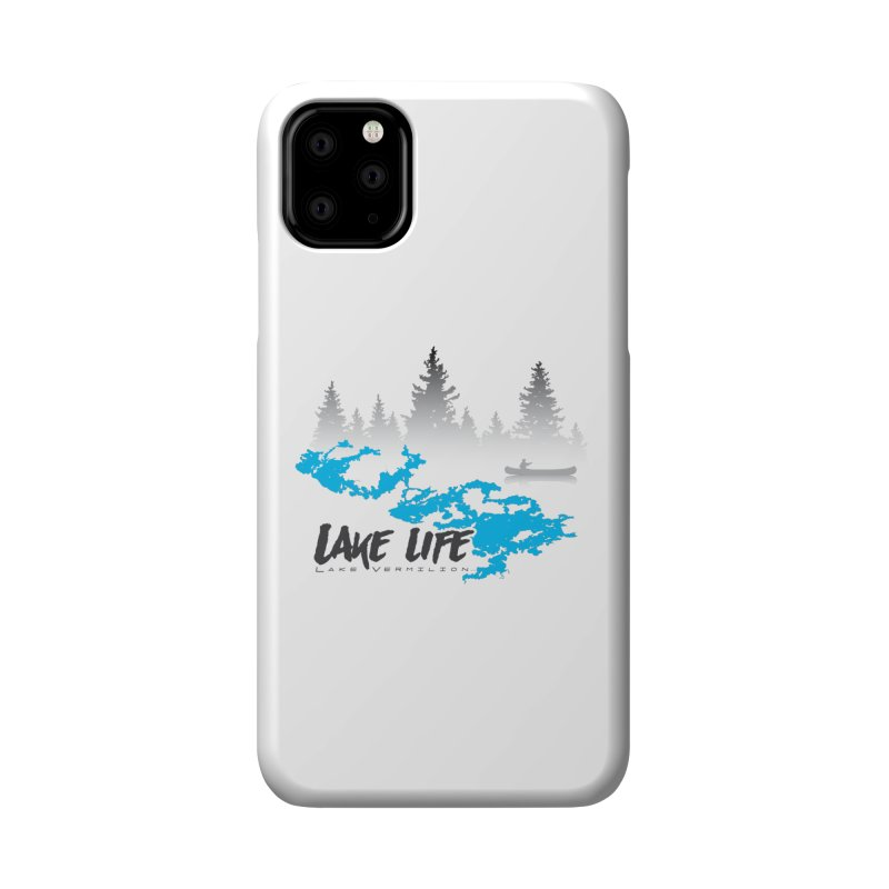 Lake Vermilion | Lake Life | Darker Lettering Accessories Phone Case by Your Lake Apparel & Accessories