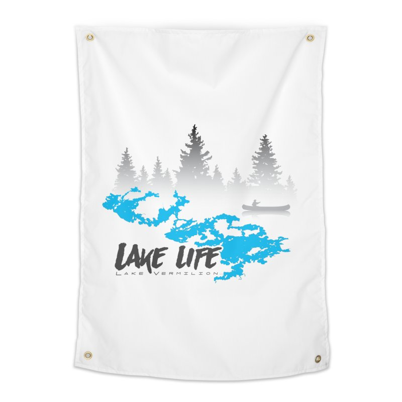 Lake Vermilion | Lake Life | Darker Lettering Home Tapestry by Your Lake Apparel & Accessories