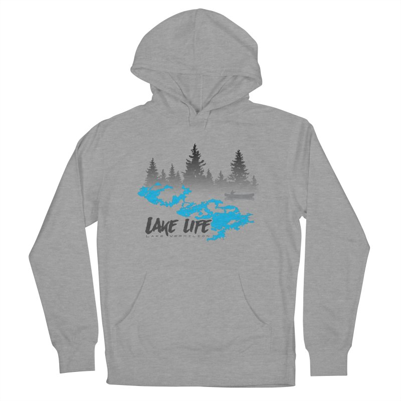 Lake Vermilion | Lake Life | Darker Lettering Women's French Terry Pullover Hoody by Your Lake Apparel & Accessories