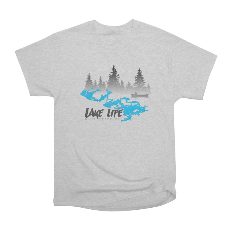 Lake Vermilion | Lake Life | Darker Lettering Women's Heavyweight Unisex T-Shirt by Your Lake Apparel & Accessories