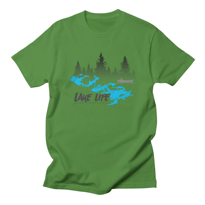 Lake Vermilion | Lake Life | Darker Lettering Women's Regular Unisex T-Shirt by Your Lake Apparel & Accessories
